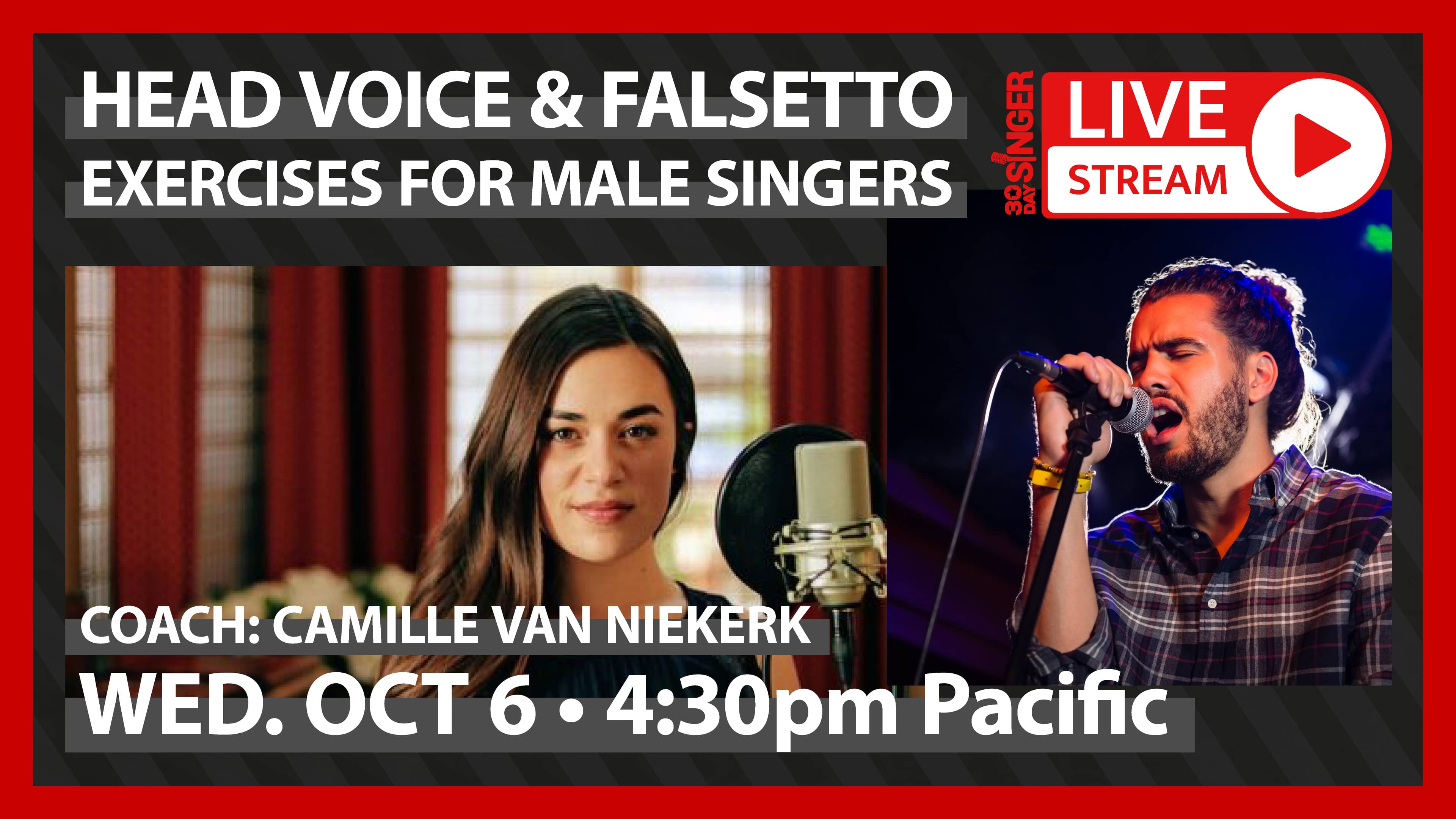 Head Voice & Falsetto Exercises For Male Singers