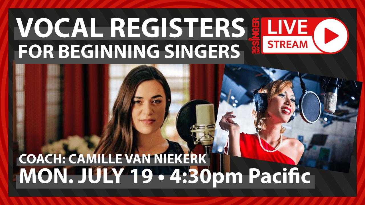 Vocal Registers 101 For Beginning Singers