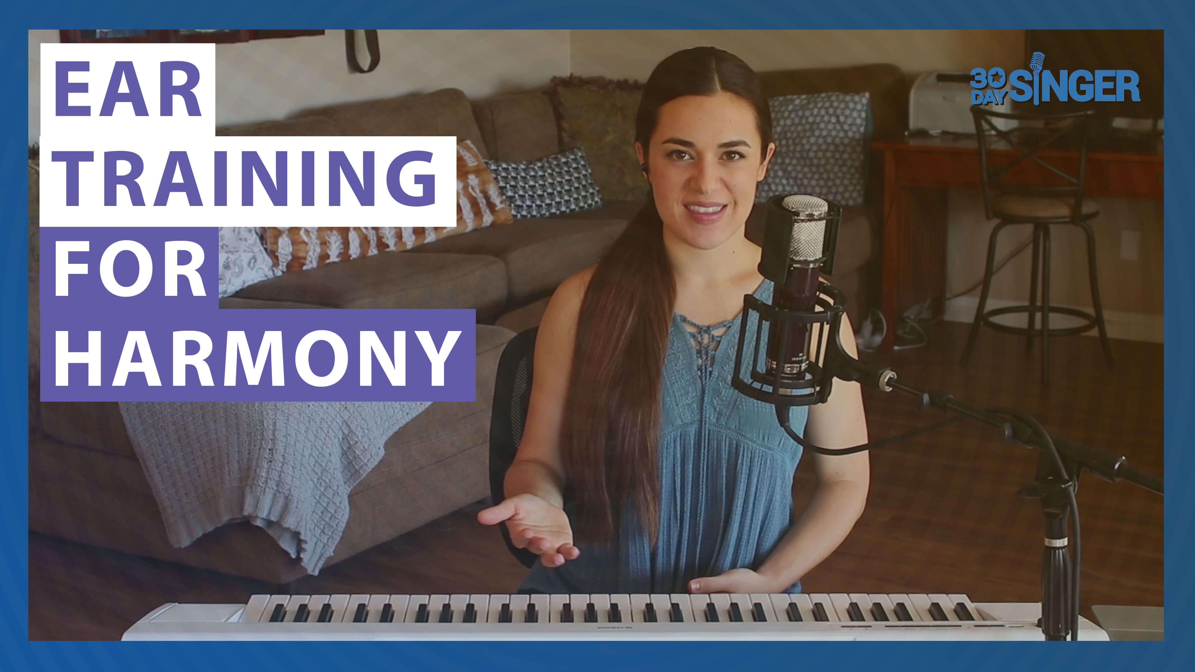 Ear Training for Harmony