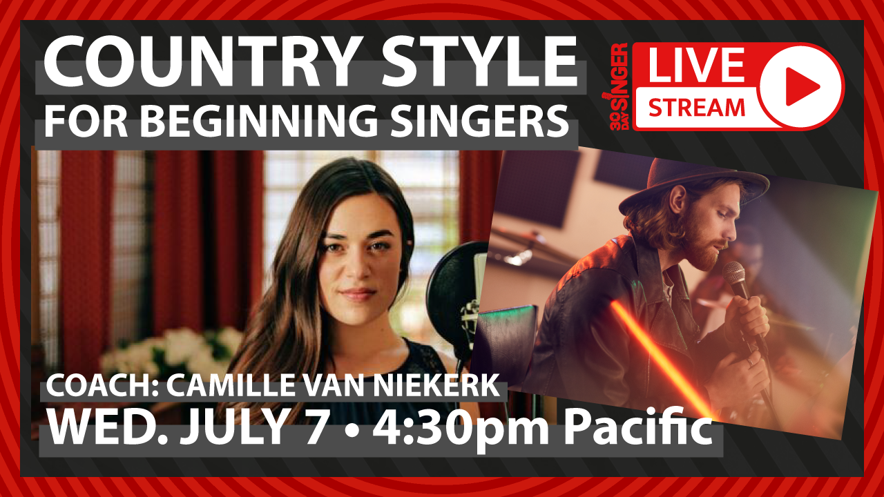 Easy Country Vocal Style For Beginners