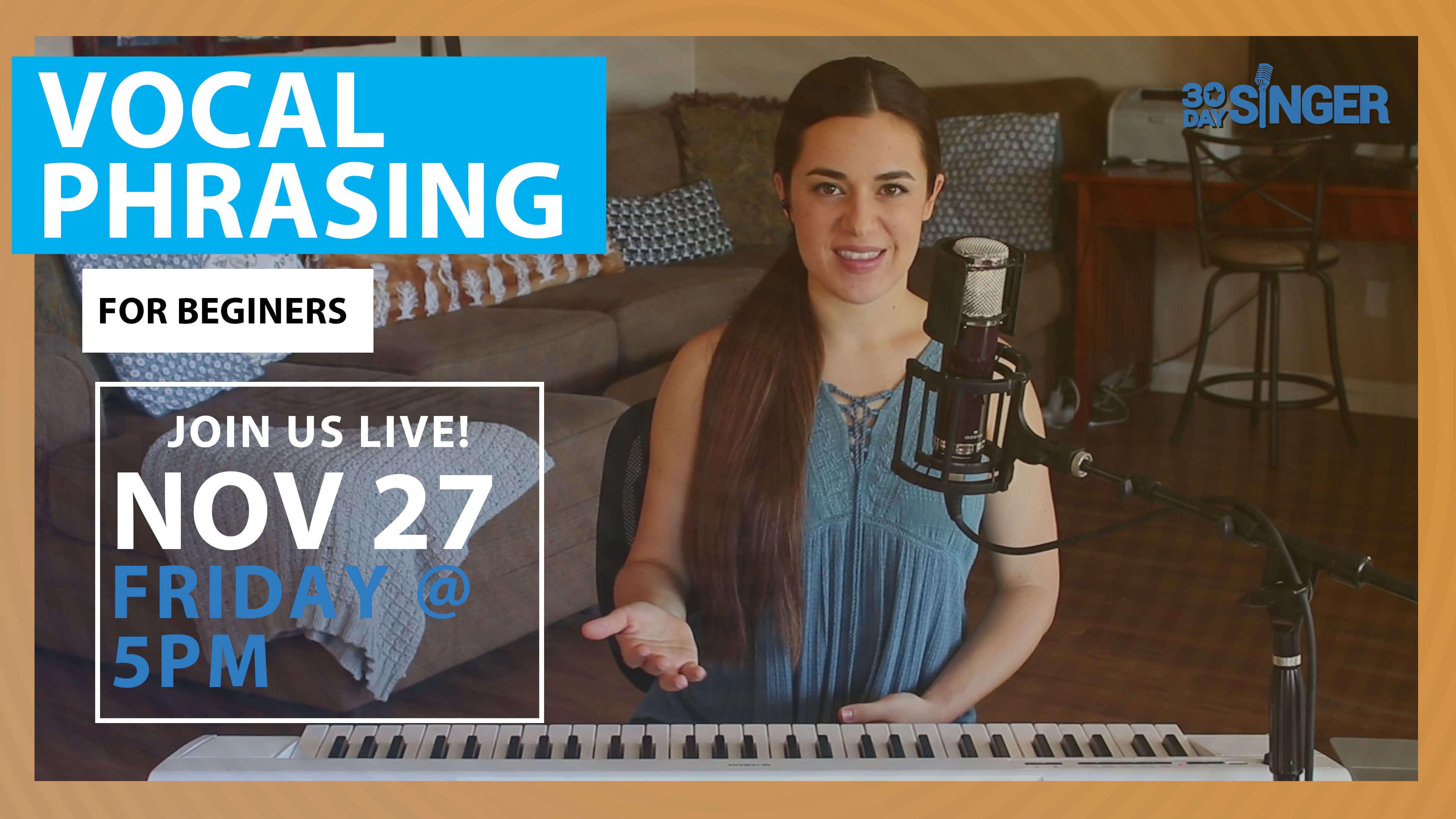 Vocal Phrasing for Beginners