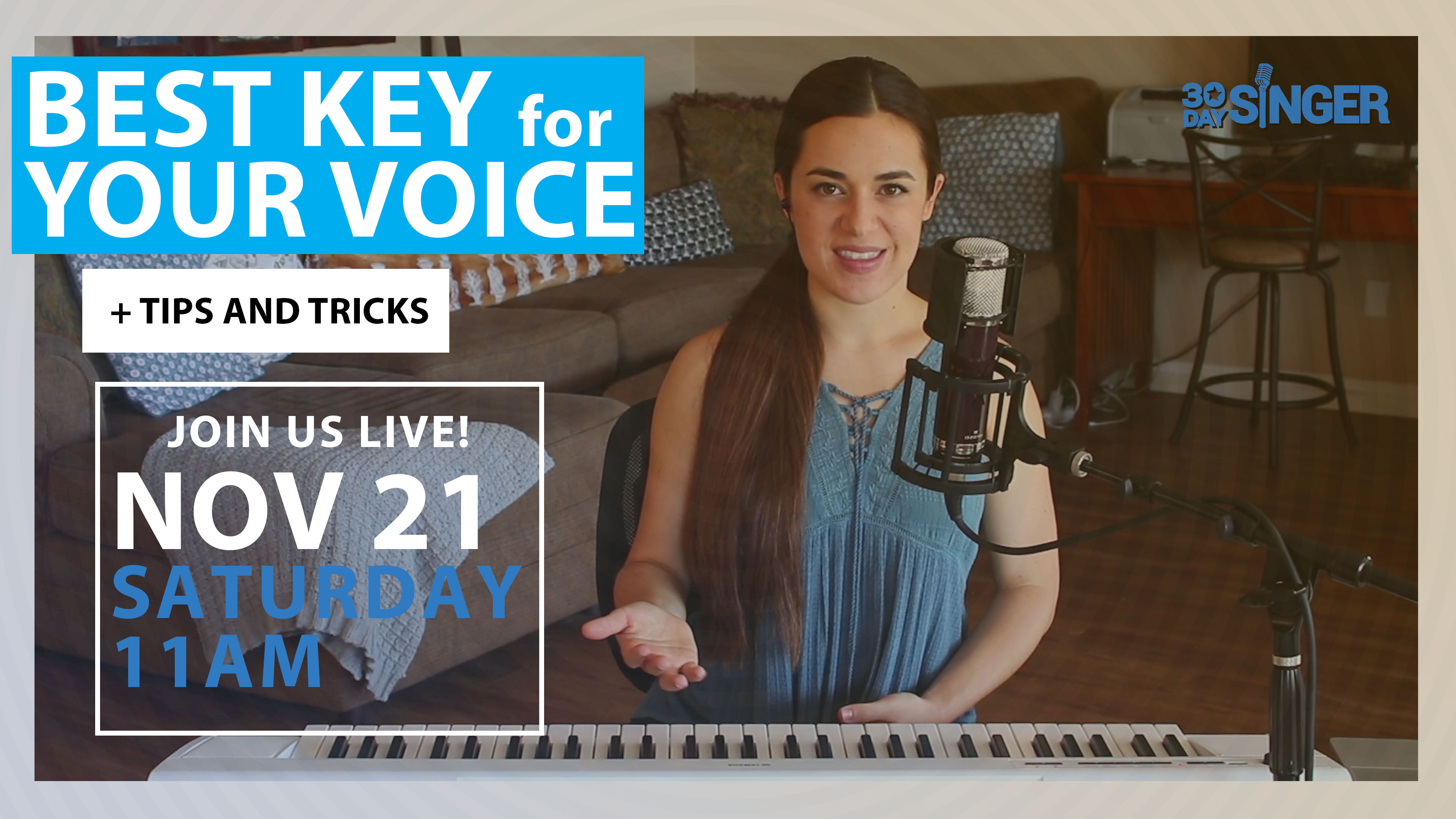 HOW TO: Find the Best Key for Your Voice
