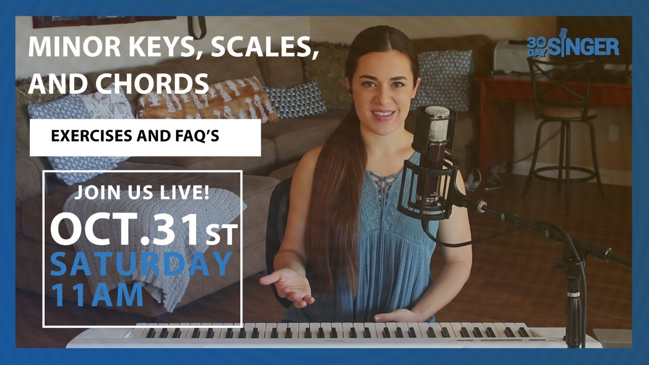 Minor keys, Scales, and Chords