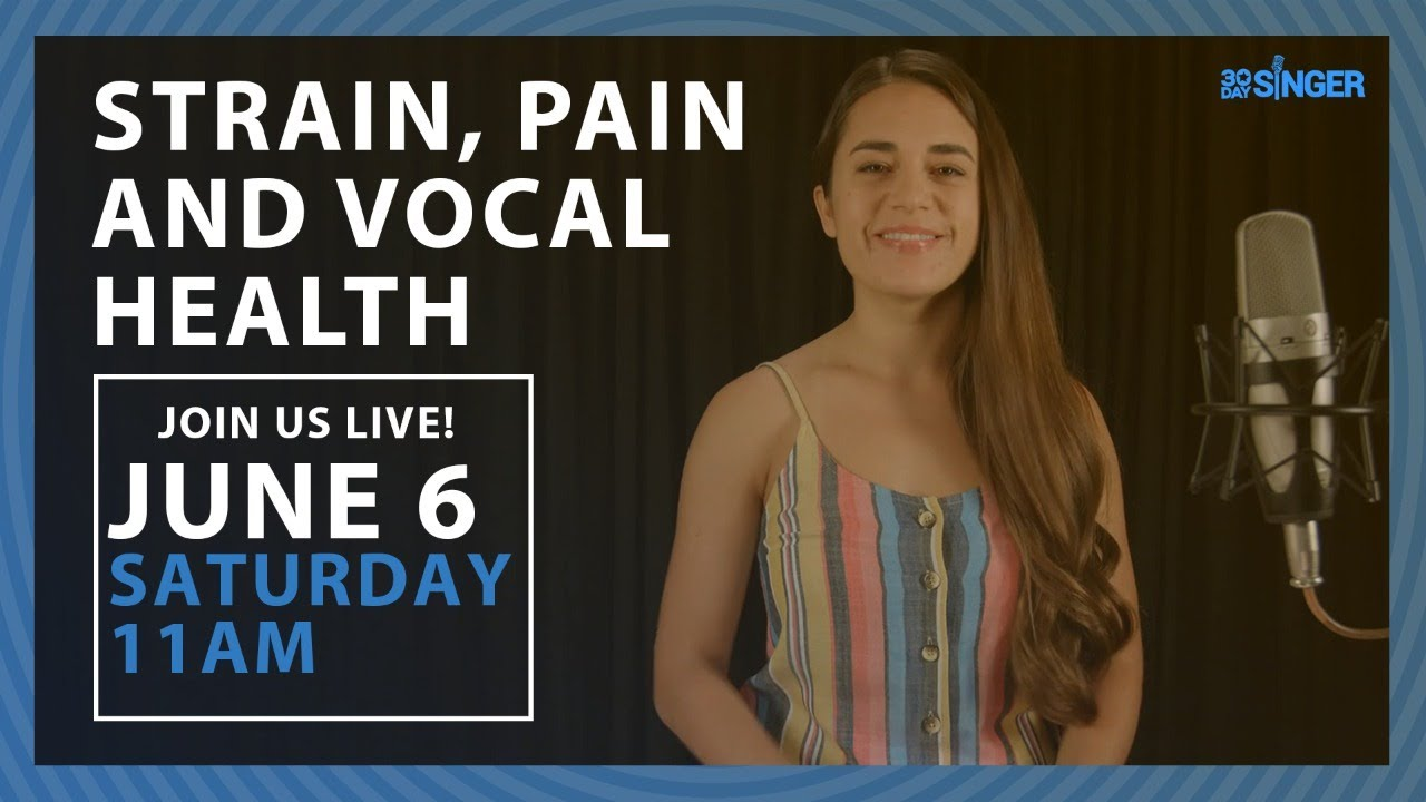 Vocal Strain, Vocal Pain, and Vocal Health