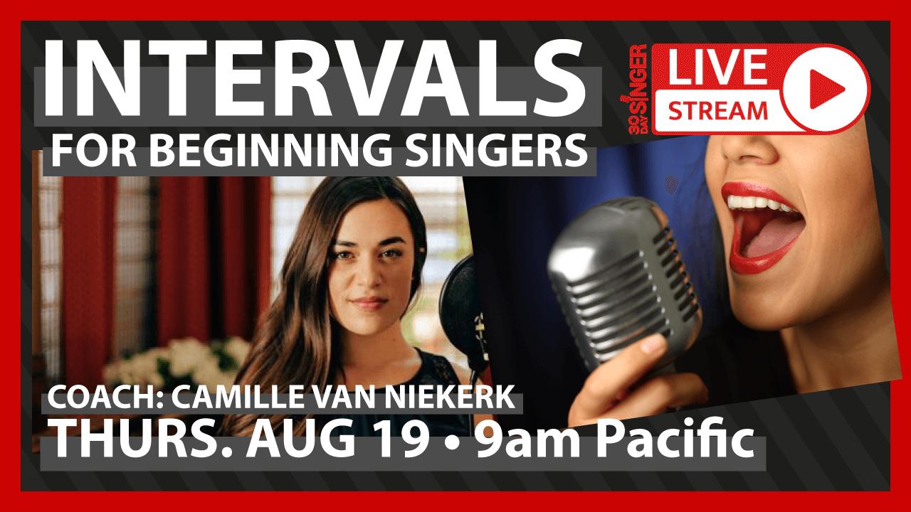 Vocal Intervals For Beginning Singers