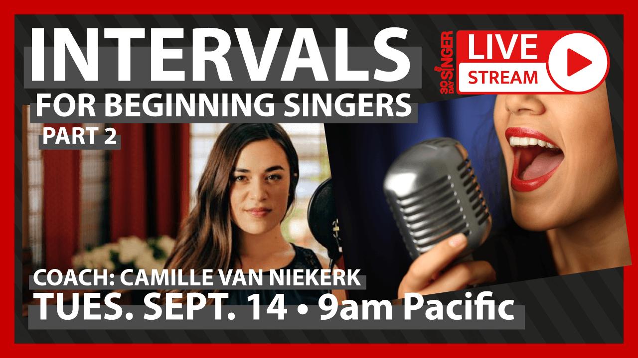 Easy Intervals For Beginner Singers - Part 2
