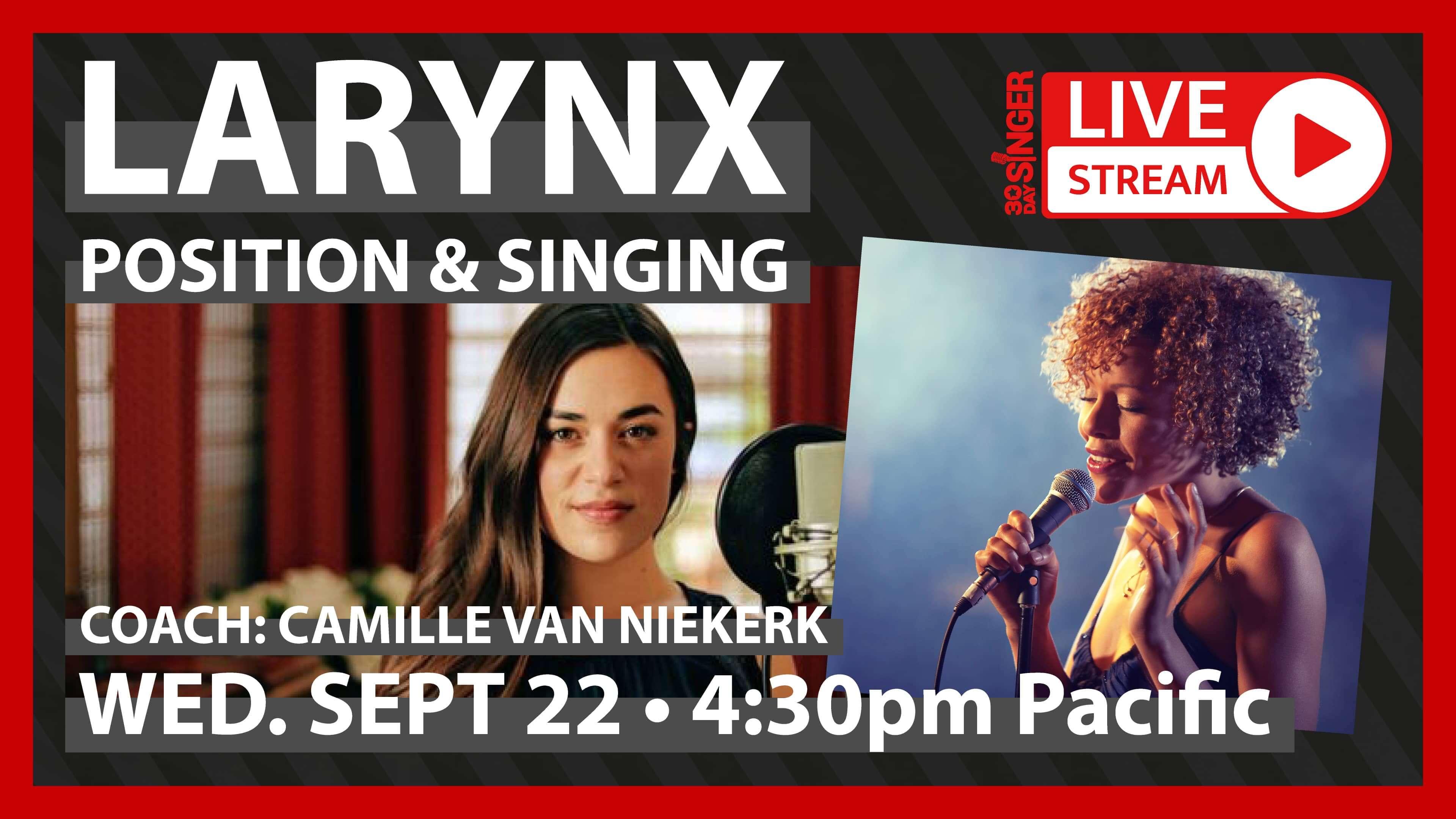 Larynx Position & Singing